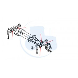 BAGUES EQUILIBREUR pour tracteur DEUTZ