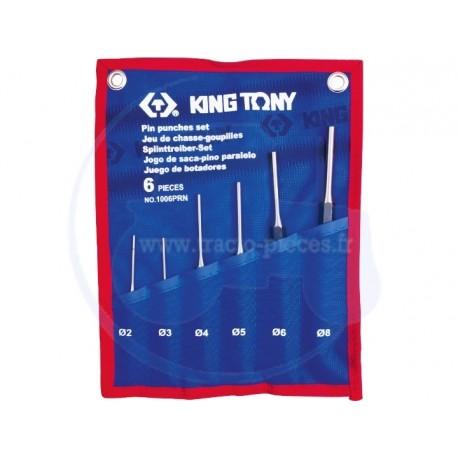 Jeu de chasse-goupilles - 6 pièces - KING TONY