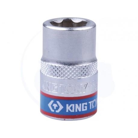Douille Métrique 1/2 (12,7mm) Standard 8 mm - KING TONY