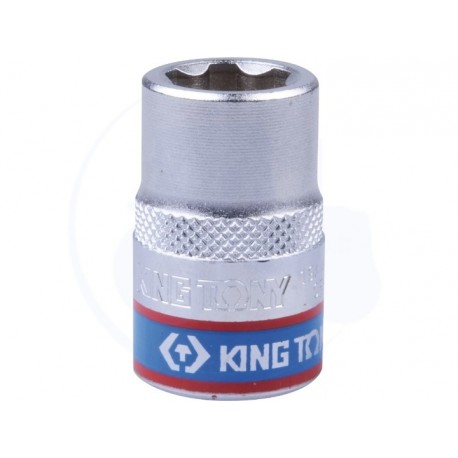 Douille Métrique 1/2 (12,7mm) Standard 10 mm - KING TONY