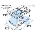 BATTERIE G 12V 75AH   T18