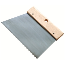 COUTEAU A COLLE L.20 DENTS FINES 180G/M2 BOIS