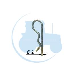GOUPILLE BETA Diamètre 2 pour tracteurs Divers