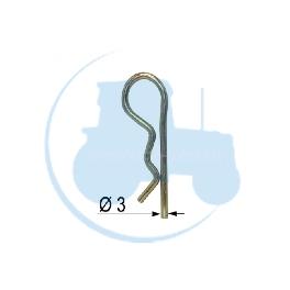 GOUPILLE BETA Diamètre 3 pour tracteurs Divers