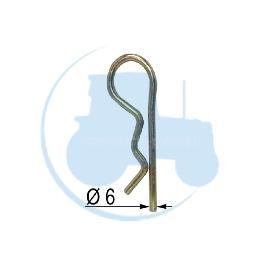 GOUPILLE BETA Diamètre 6 pour tracteurs Divers