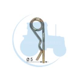 GOUPILLE DOUBLE SPIRE Diamètre 5 pour tracteurs Divers