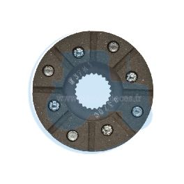 DISQUE FREIN A MAIN pour tracteurs FORD NEW HOLLAND