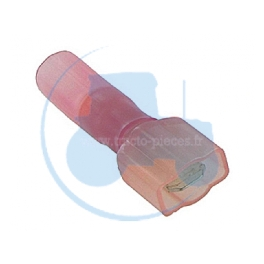 50 COSSES PLATES MALE ISOLEES THERM ROUGES pour tracteurs Divers