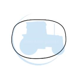 O-RINGCARTER pour tracteurs DANA SPICER