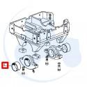 BAGUE PALIER PONT AV pour tracteurs RENAULT