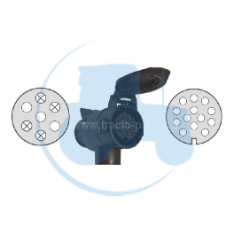 ADAPTATEUR 7-13 POLES pour tracteurs Divers