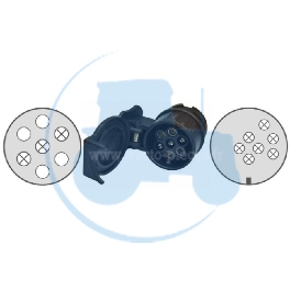 ADAPTATEUR 13-7 POLES pour tracteurs Divers