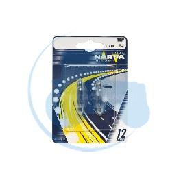 AMPOULE NAVETTE C10W 12V 10W NARVA - BLISTER DE 2
