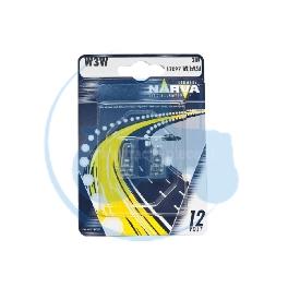 AMPOULE WEDGE W3W 12V 3W NARVA - BLISTER DE 2