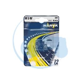 AMPOULE WEGDE W5W 12V 5W NARVA - BLISTER DE 2