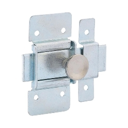 TARGETTE PENE PLAT ZINGUE 40MM (100740)