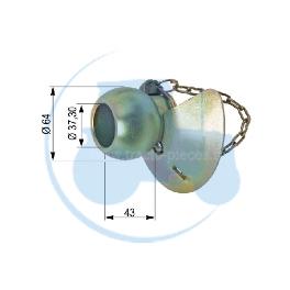 ROTULE A CONE Catégorie 3/3 pour tracteurs Divers