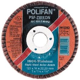 DISQUE D125 A SURFACER POLIFAN GRAINS 40 Z+