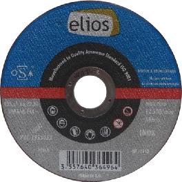 DISQUE TRONC.125X1X22,2 INOX PLAT ELIOS