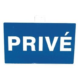 SIGNALETIQUE ''PRIVE 330X200''