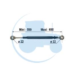 STABILISATEUR Rotule pour tracteurs RENAULT