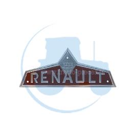EMBLEME FRONTAL MARRON pour tracteurs RENAULT