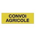 PANNEAU CONVOI AGRICOLE CLASSE 2 1200x400MM ALUMIN