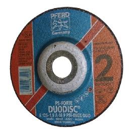 D.125x1,9 A 46 PSF INOX DUO