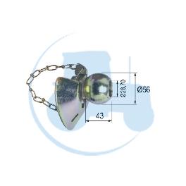 ROTULE A CONE Catégorie 2/2 pour tracteurs Divers