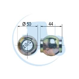 ROTULE SIMPLE CATEGORIE 2 largeur 44 mm pour tracteurs Divers