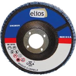 DISQUE A LAMELLES 115X1 GR120 ZIRCO X10 ELIOS