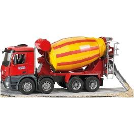 jouet camion toupie beton mercedes arocs bruder tracto. Black Bedroom Furniture Sets. Home Design Ideas