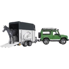 Rover Bvan Defender cheval Land Voiture Bruder trCsQdhx