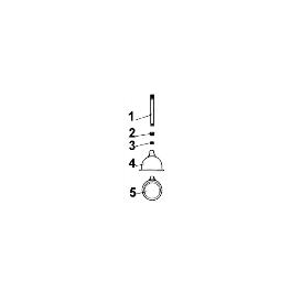 ECROU DE TIGE DE VANNE D.INT 20 M30