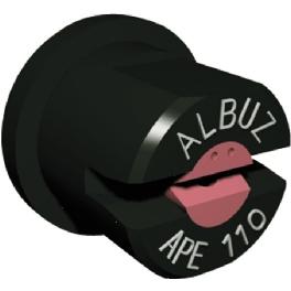 BUSE APE 110° NOIRE ALBUZ