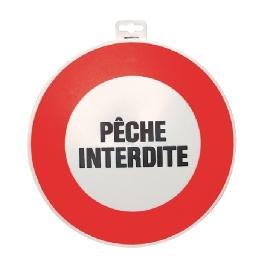 SIGNALETIQUE ''PECHE INTERDITE''