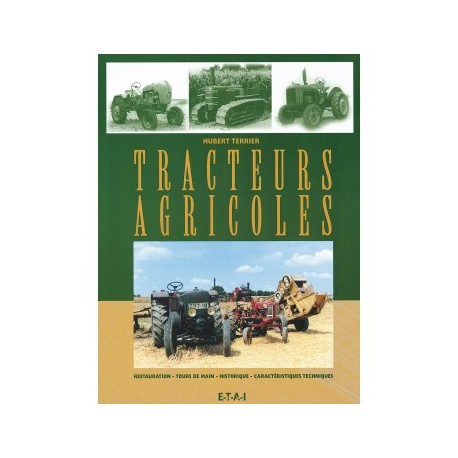 LIVRE ETAI TRACTEURS AGRICOLES