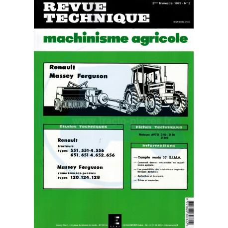 REVUE TECHNIQUE N° 002-A