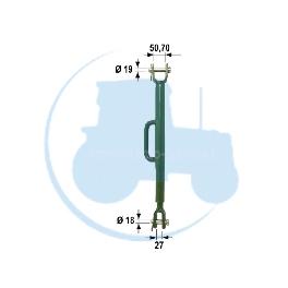 STABILISATEUR TELES Complet pour tracteurs JOHN DEERE