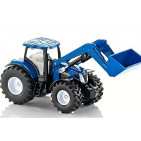 TRACTEUR NEW HOLLAND T7070 AVEC CHARGEUR FRONTAL 1/50 SIKU