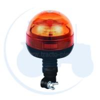 GYROPHARE LED 12/24V BASE FLEXIBLE - 3 FONCTIONS
