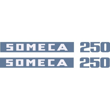 JEU AUTOCOLLANTS SOMECA 250