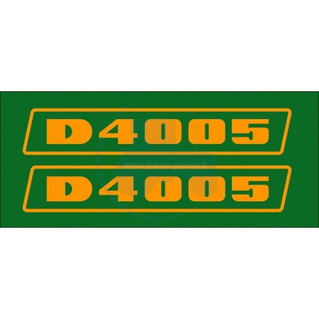 JEU AUTOCOLLANTS DEUTZ D 4005