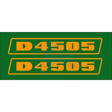 JEU AUTOCOLLANTS DEUTZ D 4505