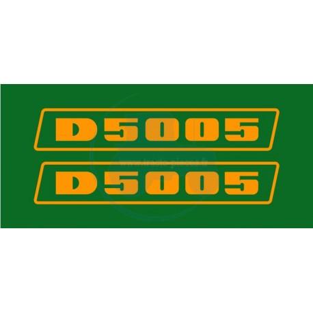 JEU AUTOCOLLANTS DEUTZ D 5005
