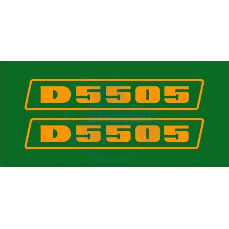 JEU AUTOCOLLANTS DEUTZ D 5505