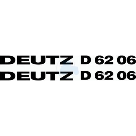 JEU AUTOCOLLANTS COTES CAPOT DEUTZ 40.06 NOIR