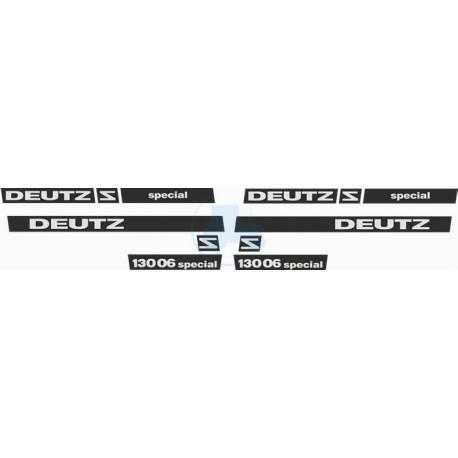 JEU AUTOCOLLANTS DEUTZ D 4006