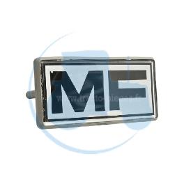 EMBLEME MF pour tracteurs MASSEY-FERGUSON