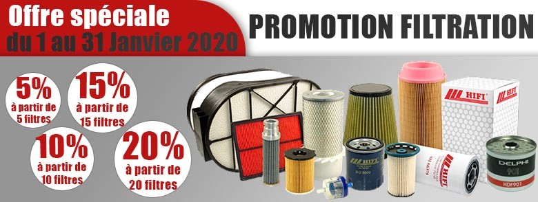 Gamme Filtration